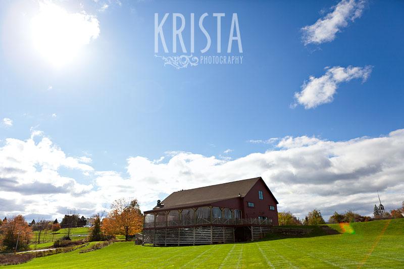 Fall Wedding at Gibbet Hill