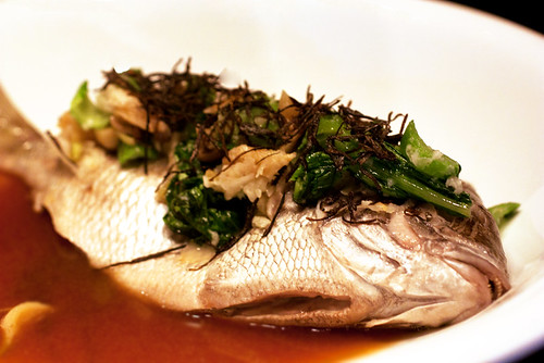 whole porgy @ momofuku ssam