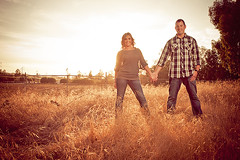 Brett & Mindy Engagement shoot in Menifee California