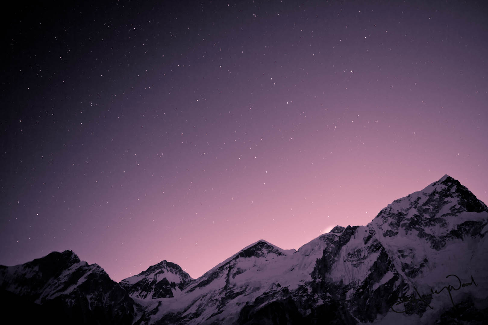 mt everest by alex olivera