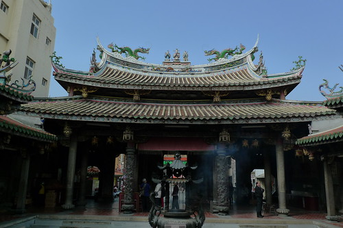 Matsu  (Goddess of the Sea) Temple - Lukang, Taiwan