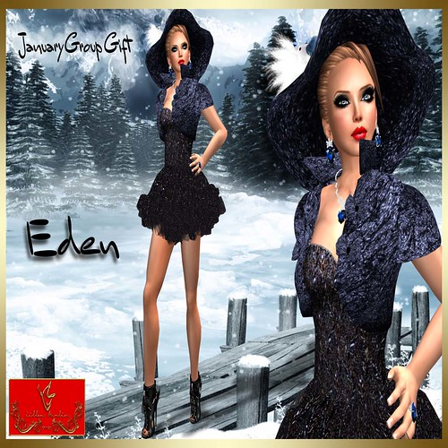 [Lilou Designs] Eden - January GroupGift, 1 linden by Cherokeeh Asteria