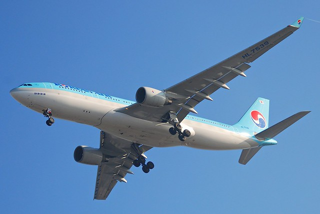 Korean Air Airbus A330-200; HL7539@LAX;11.10.2011/623aa