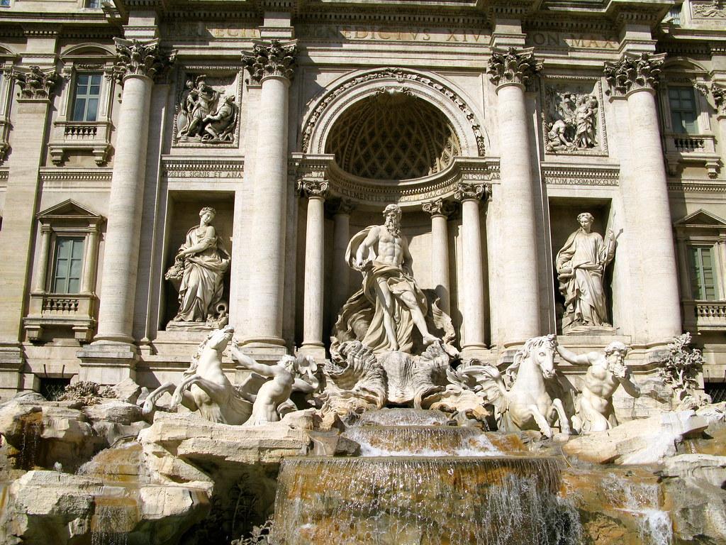Ver la Fontana di Trevi