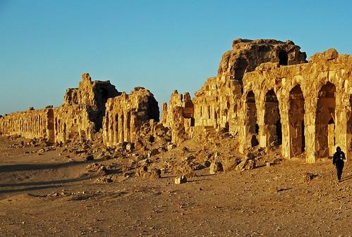 landscapes ruins desert syria paesaggi deserto siria rovine antichità sergiopolis mat56