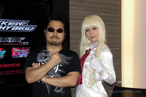 Tekken's Producer Katsuhiro Harada