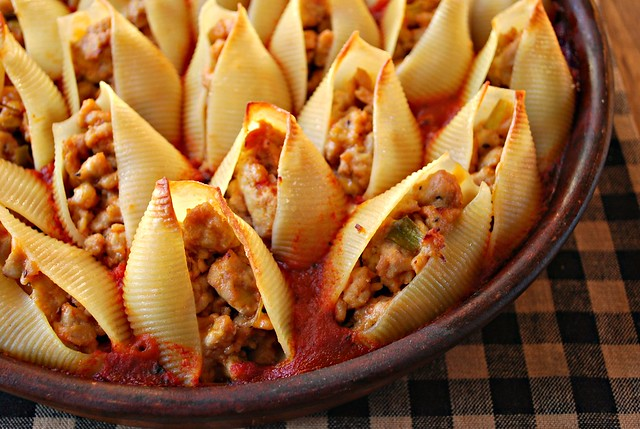 Stuffed Shells - cooked 1