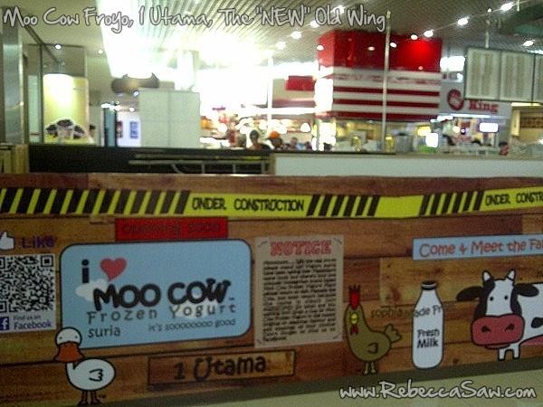 moo cow froyo 1 utama