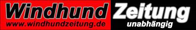 Windhundzeitung.de Logo; Helmut Dietz, Bielefeld