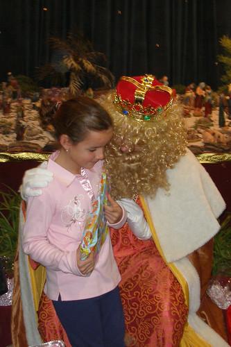 Los Reyes Magos visitan a los niños del Rescate (VI)