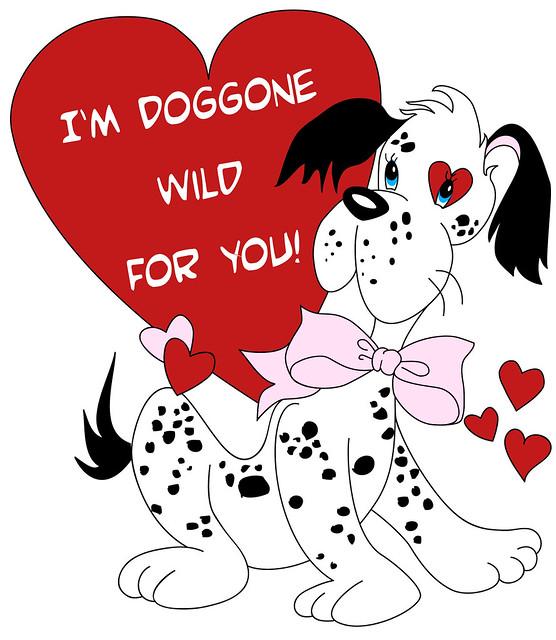 valentine puppy clipart - photo #27