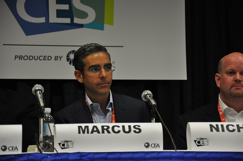 David Marcus, VP/GM of Mobile for PayPal CES 2012