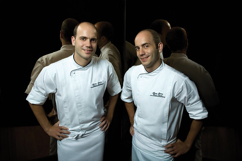 Chefs Thomas and Mathia Suhring, tower club at lebua