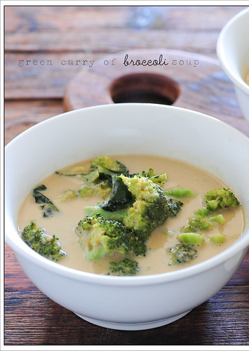 green curry of broccoli soup2