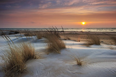 """Winter at the Beach"" Tawas Point State Park - East Tawas, Michigan  (Lake Huron) by Michigan Nut"