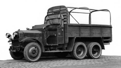 Crossley IGL3 6-wheeled army wagon