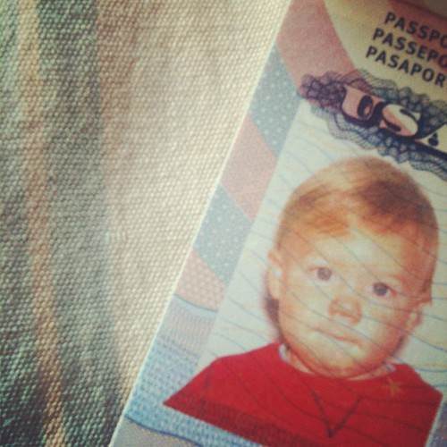 #janphotoaday - close up - Yay! Griffy's passport arrived. We can officially move to Germany now :)