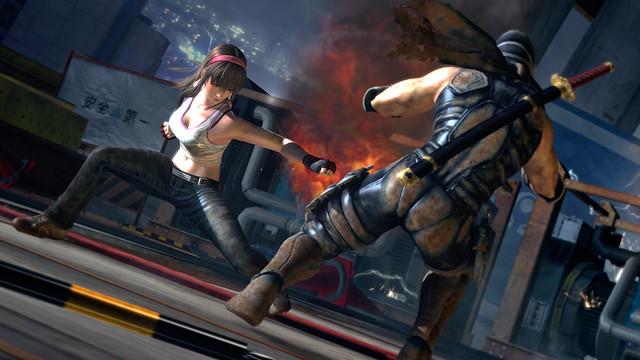 Dead or Alive 5 - Hitomi vs Ryu (1)