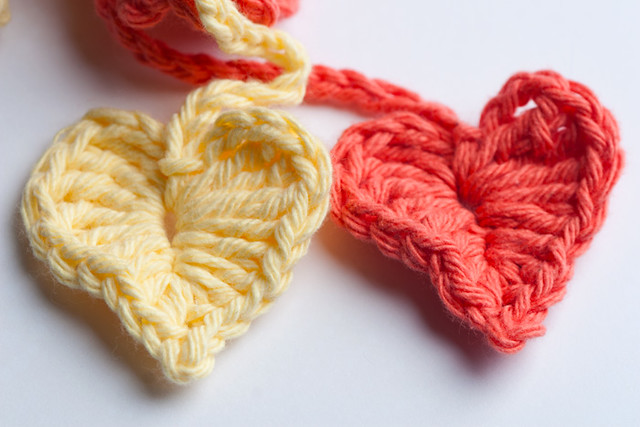 Heart Ties for Crochet Bath Puff Flickr - Photo Sharing!