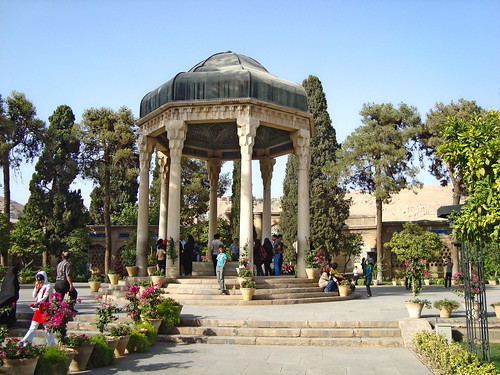 Tomb of Hafez, Shiraz, Iran by Ferry Vermeer