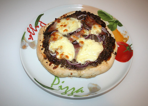 35 - Pizza Conchita - Serviert