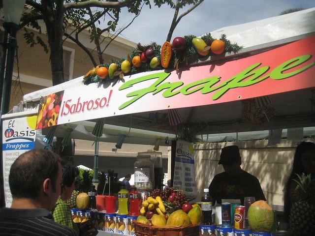 Fruit Drink Stands