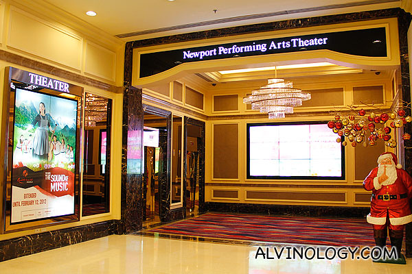 Newport Performing Arts Theater