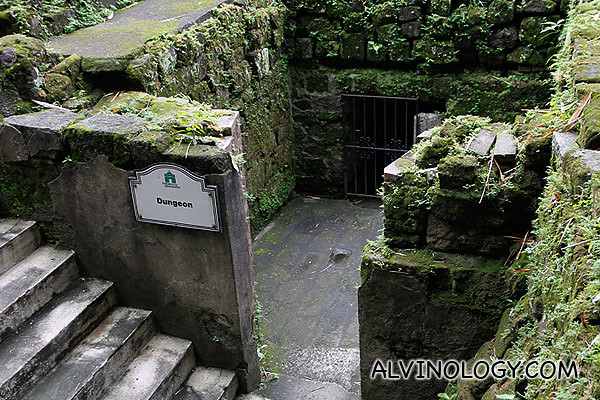 Dungeon where the Japanese tortured people