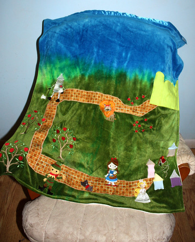 Wizard of Oz - Organic Bamboo Velour LoveScape Blanket