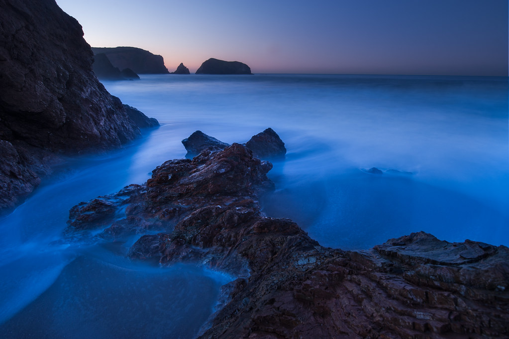 Rodeo Beach, Long Exposure