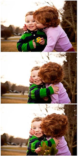 Finn & Norah by Pam