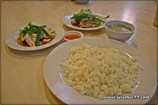 Curry Mee @ Hot Bowl Nyonya Delight, Abu Siti Lane - Hainan Chicken Rice