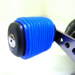 Blue Fishing Reel Grip