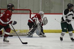 stick and ball games(0.0), ball hockey(0.0), roller in-line hockey(0.0), sports(1.0), team sport(1.0), ice hockey(1.0), hockey(1.0), player(1.0), defenseman(1.0), ice hockey position(1.0), college ice hockey(1.0), ball game(1.0), bandy(1.0), athlete(1.0),