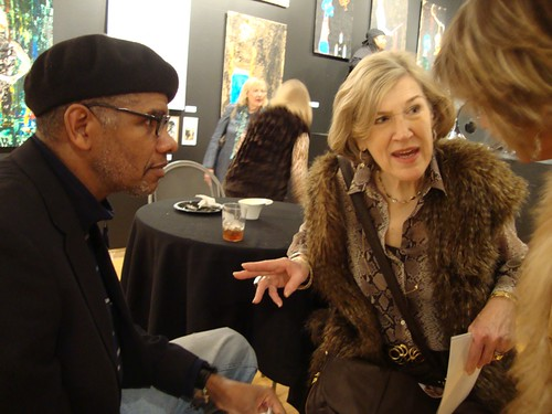 Pat Sewell art exhibit, Artspace Shreveport: Jerry Davenport, Betty Black by trudeau