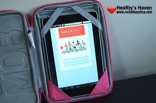 Golla Case with Tablet Inserted