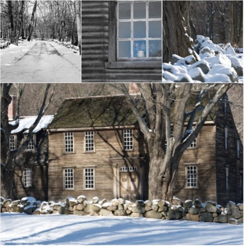 house collage