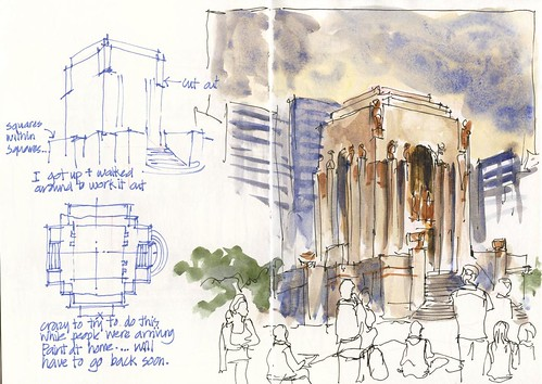 120121 Sketchcrawl 34_03 Plan A_Anzac Memorial Wash out