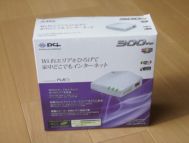 WiFi エクステンダー MZK-EX300N2