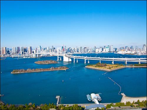 Vistas desde Fuji Tv