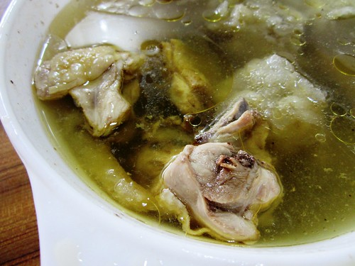 Chicken abalone soup