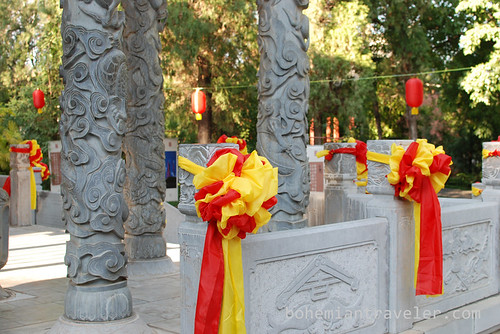 New Years ribbons at Confucian Temple