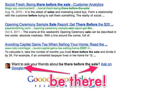 be there before the sale - Google Search