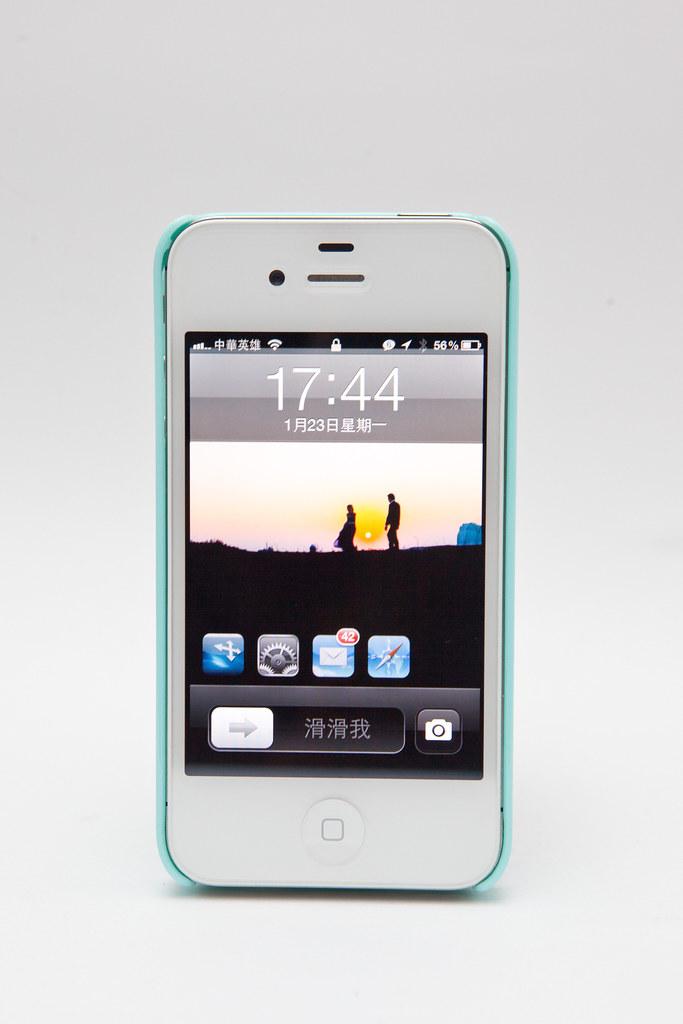 iPhone 4S IRO Case 藍綠 / Twitter 特別版 @3C 達人廖阿輝