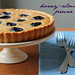 honey-almond prune tart