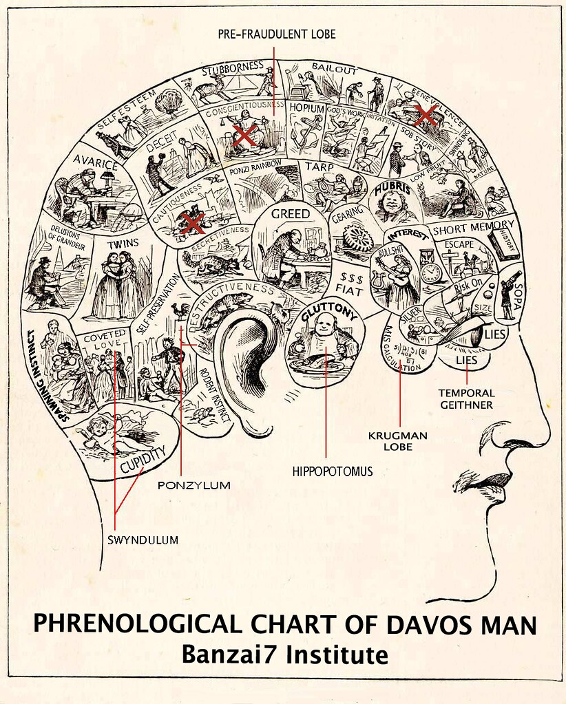 PHRENOLOGICAL CHART OF DAVOS MAN