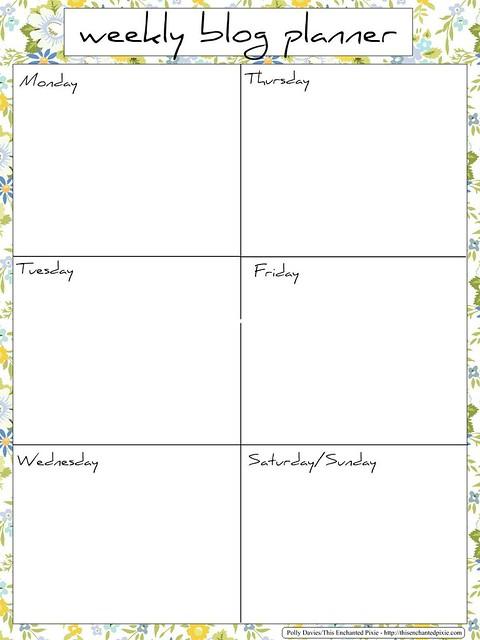 weeklyblogplanner