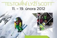 Testování lyží Scott na Slovensku