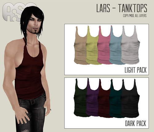 A:S:S - Lars Tanktops by Photos Nikolaidis