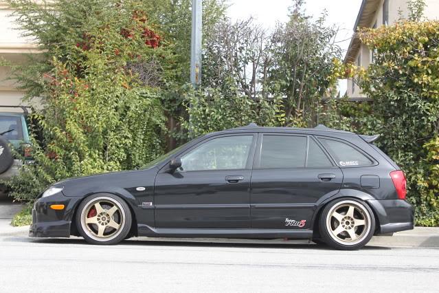 Mazda protege5 wheel size
